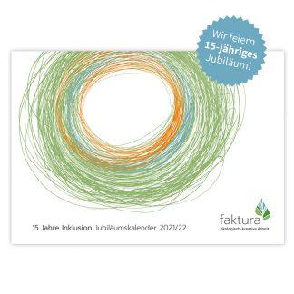 15 Jahre faktura - Jubiläumskalender Titel